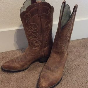 Ariat Women's Heritage R Toe Western/Cowgirl Boot